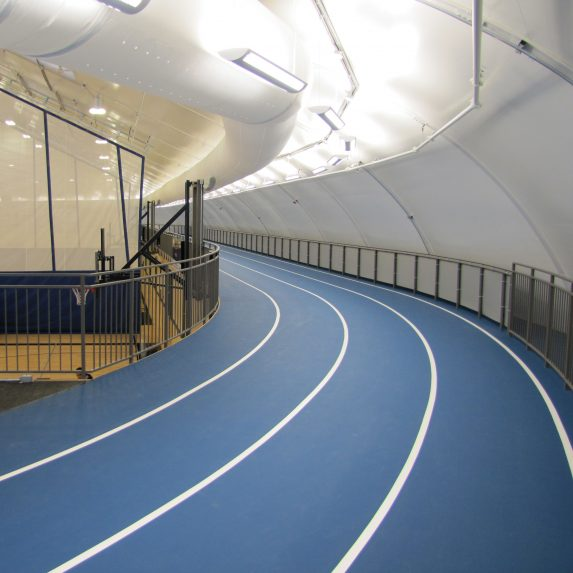 Sports facility construction - indoor running track